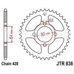 Zębatka tylna stalowa JT 838-45, 45Z, rozmiar 428 2300213 Yamaha RD 125, RS 100