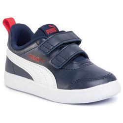Puma Sneakersy Courtflex V2 V Inf 371544 01 Granatowy