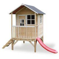 Domki i namioty dla dzieci, Domek cedrowy dla dzieci EXIT LOFT 300 /naturalny/