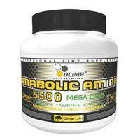 Aminokwasy, Amino Anabolic 5500 Mega Caps - 180 kaps
