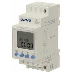 Elektroniczny programator czasowy na szynę DIN OR-PRE-433 ORNO