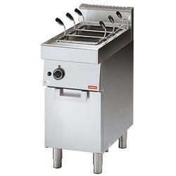 Urządzenie elektryczne do gotowania makaronu z kranem | 4 komorowe | 3000W | 230V | 70x40x(H)85cm
