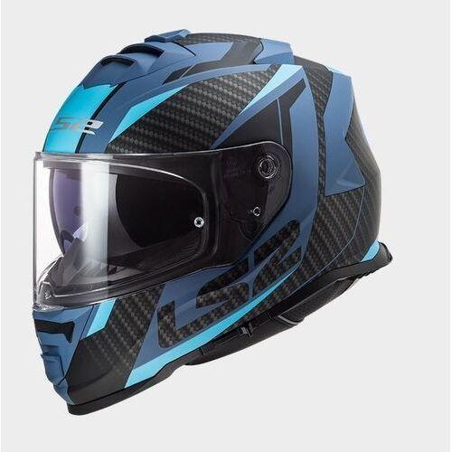 Kaski motocyklowe, KASK LS2 FF800 STORM RACER MATT BLUE
