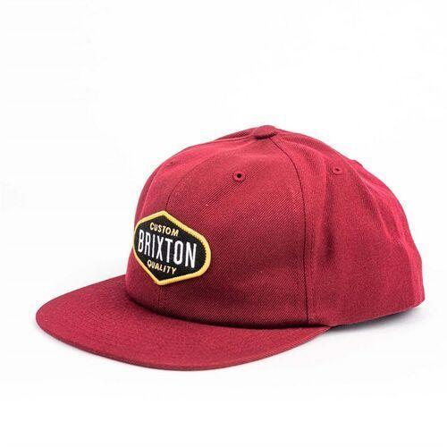 Nakrycia głowy i czapki, czapka z daszkiem BRIXTON - Oakland Burgundy (BRGDY) rozmiar: OS
