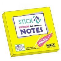 Notesy, Notes samoprzylepny żółty neonowy