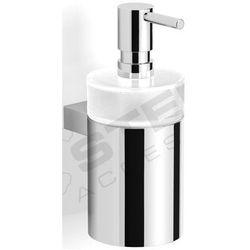 Dozownik do mydła w płynie / metalowa obudowa | 7 x 11 x 18 cm