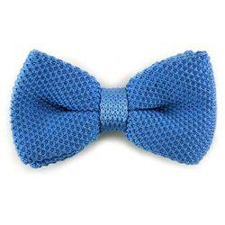 Niebieska muszka do koszuli M-443200N
