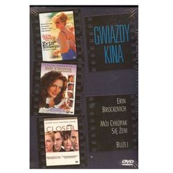 Gwiazdy kina: Julia Roberts - Erin Brockovich, Mój chłopak się żeni, Bliżej (3xDVD) - P.J. Hogan, Mike Nichols, Steven Soderbergh DARMOWA DOSTAWA KIOS