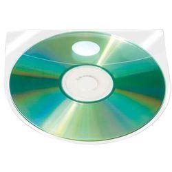 Kieszeń samoprzylepna Q-CONNECT na 2-4 płyty CD/DVD 127x127mm, 10 sztuk
