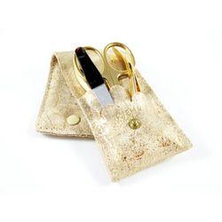 CARTHAGO GOLD - 4-częściowy zestaw do manicure, SOLINGEN-Kiehl