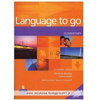 Książki do nauki języka, Language to Go Elementary Student's Book (podręcznik) (opr. miękka)