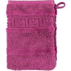 Rękawica kąpielowa noblesse 16 x 22 cm purpurowa