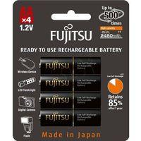 Akumulatorki, FUJITSU BLACK R6 2450 MAH -4SZT BLISTER