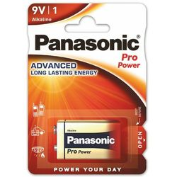 1 x Panasonic PRO Power 6LR61/9V (blister)