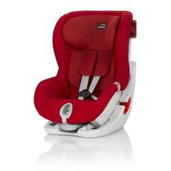 BRITAX RÖMER Fotelik samochodowy King II Flame Red - BEZPŁATNY ODBIÓR: WROCŁAW!