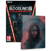 Gry na PC, Vampire The Masquerade Bloodlines 2 Unsanctioned Edition (PC)