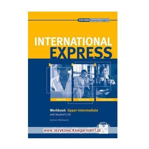 Książki do nauki języka, International Express Interactive, Upper Intermediate, Workbook (zeszyt ćwiczeń) with Audio CD (opr. miękka)