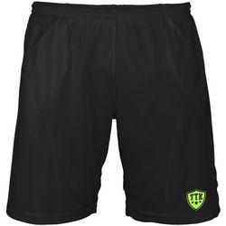 TTK T-SHORTS IRIDIUM BLACK - spodenki tenisowe R. XS