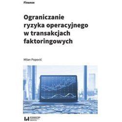 Ograniczanie ryzyka operacyjnego w transakcjach... (opr. broszurowa)