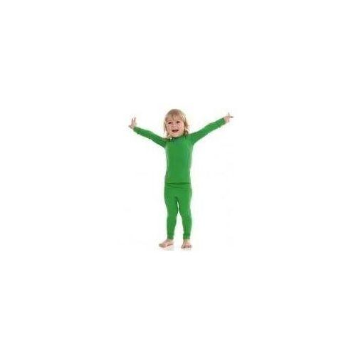 Spodnie dla dzieci, Brubeck Spodnie chłopięce THERMO Kids zielony