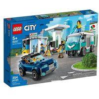 Klocki dla dzieci, Lego CITY Stacja benzynowa 60257