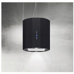 Okap wyspowy na lince Arto Czarny 40 cm, 635 m3/h