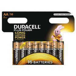 Duracell Plus Power AA 16szt (MN1500/LR06) Darmowy odbiór w 20 miastach! Darmowa wysyłka i zwroty