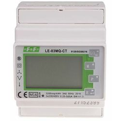 Licznik energii elektrycznej 3-fazowy LE-03MQ-CT MID RS-485