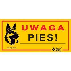 """DINGO tabliczka ostrzegawcza """"UWAGA PIES"""" - """"UWAGA PIES"""""""