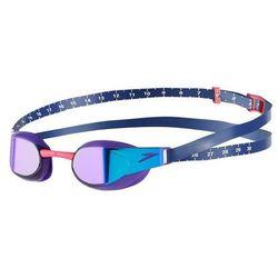 speedo Fastskin Elite Mirror Okulary pływackie fioletowy/niebieski 2019 Okulary do pływania