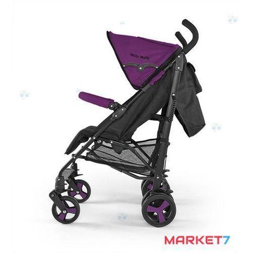 Wózki spacerowe, WÓZEK SPACEROWY ROYAL FIOLETOWY #B1