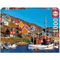 Puzzle, Puzzle 1000 elementów, Nordic houses - DARMOWA DOSTAWA OD 199 ZŁ!!!