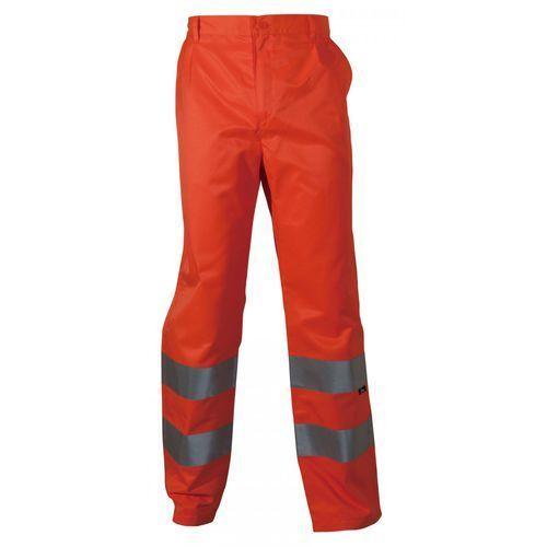 Spodnie i kombinezony ochronne, Spodnie robocze ostrzegawcze pomarańczowe, rozmiar XXXL