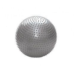 Piłka rahabilitacyjna MASUJĄCA, Kolor SREBRNY 75 cm