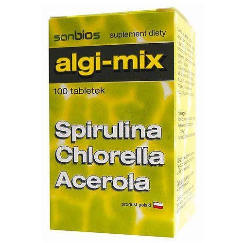 Detox i oczyszanie organizmu, Algi Mix 100 tabl.