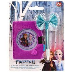 Pluszowy pamiętnik z długopisem - Frozen II