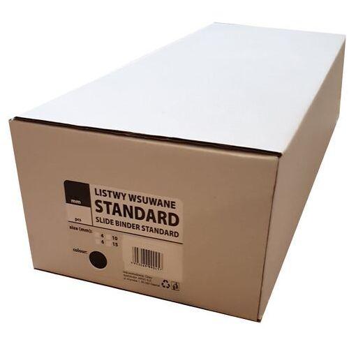 Grzbiety do bindownic, Listwy do bindowania wsuwane standard Argo, zielone, 4 mm, 50 sztuk, oprawa do 10 kartek - Autoryzowana dystrybucja - Szybka dostawa - Tel.(34)366-72-72 - sklep@solokolos.pl
