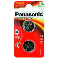 Baterie, 2 x bateria litowa mini Panasonic CR2016