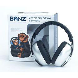 Słuchawki ochronne nauszniki dzieci 0-3lat BANZ - Silver