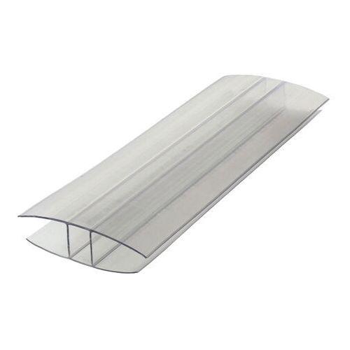 Pozostałe artykuły dachowe, Profil łączący płyty poliwęglanowe typ H 2 m 6 mm