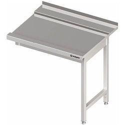 Stół wyładowczy bez półki na dwóch nogach 700x700x880 mm | STALGAST, 981327070