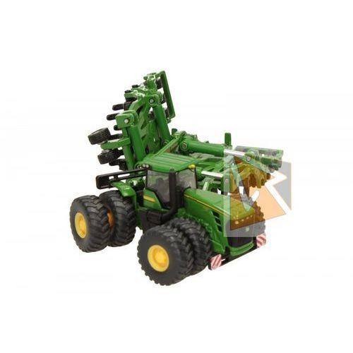 Traktory dla dzieci, SIKU Traktor John Deere 1856 z rozrzutnikiem