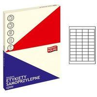 Pozostałe artykuły szkolne, Etykiety samoprzylepne 003 48,5x25,4/40 GRAND