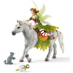 Elf Marween w odświetnym stroju na koniu 70517 - Schleich