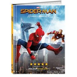 Spider-Man: Homecoming (DVD) + Książka