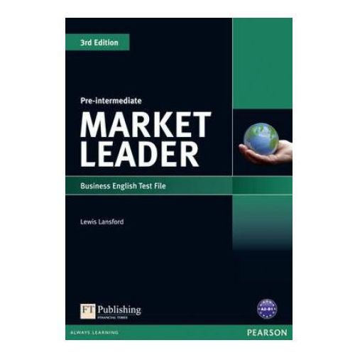 Książki do nauki języka, Market Leader 3rd Edition Pre-Intermediate Test File (opr. miękka)