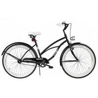 Pozostałe rowery, Rower INDIANA X-Cruiser 1.0 Czarny + 5 lat gwarancji na ramę! + DARMOWY TRANSPORT!