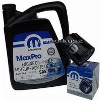 Oleje silnikowe, Oryginalny filtr oleju oraz olej MOPAR 10W30 Plymouth Breeze