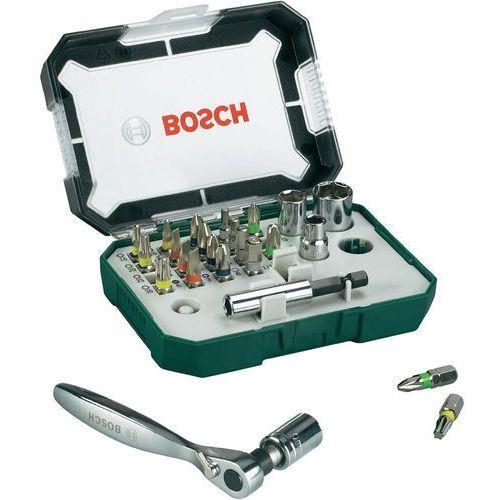 Bity i końcówki, Bity Bosch Accessories Promoline 2607017322, płaski, krzyżakowy Phillips, krzyżakowy Pozidriv, wewnętrzny sześciokąt, TORX, 26 szt. Przy złożeniu zamówienia do godziny 16 ( od Pon. do Pt., wszystkie metody płatności z wyjątkiem przelewu bankowego), wysyłka odbędzie się tego samego dnia.