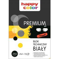 Blok techniczny Happy Color PREMIUM A4 10 arkuszy biały